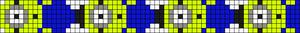 Alpha Friendship Bracelet Pattern #10430