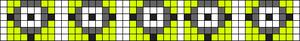 Alpha Friendship Bracelet Pattern #10431