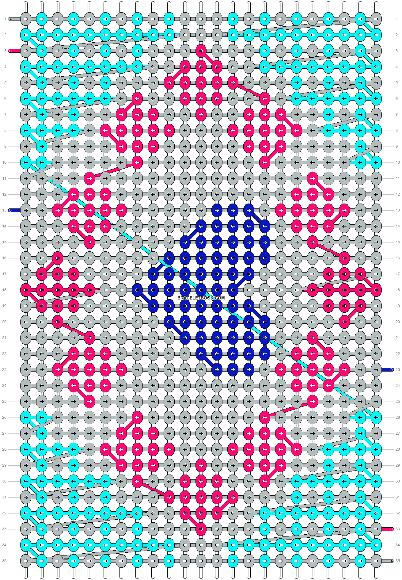 Alpha pattern #10432 pattern