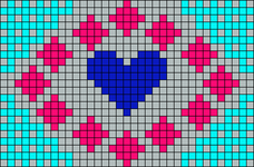 Alpha Friendship Bracelet Pattern #10432