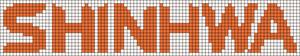 Alpha pattern #10436