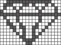 Alpha pattern #10440