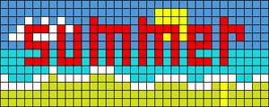 Alpha pattern #10448
