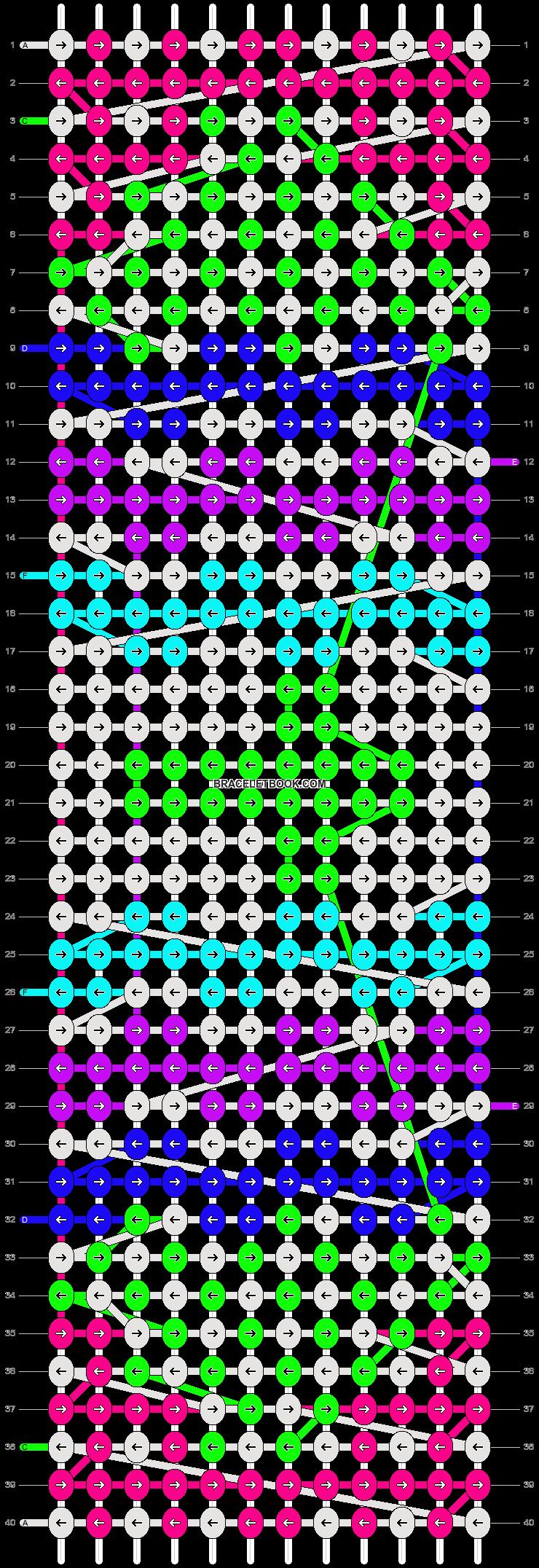 Alpha pattern #10449 pattern