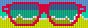 Alpha pattern #10450