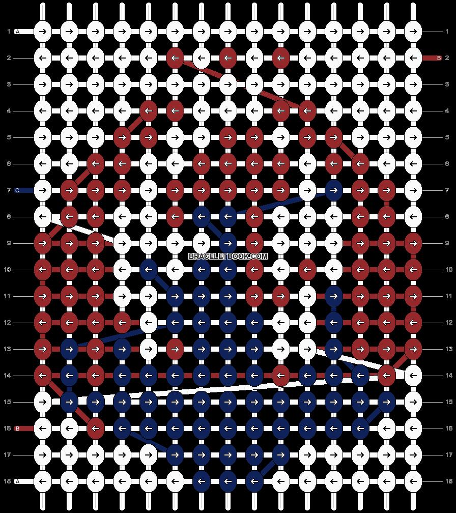 Alpha pattern #10454 pattern
