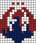 Alpha pattern #10454