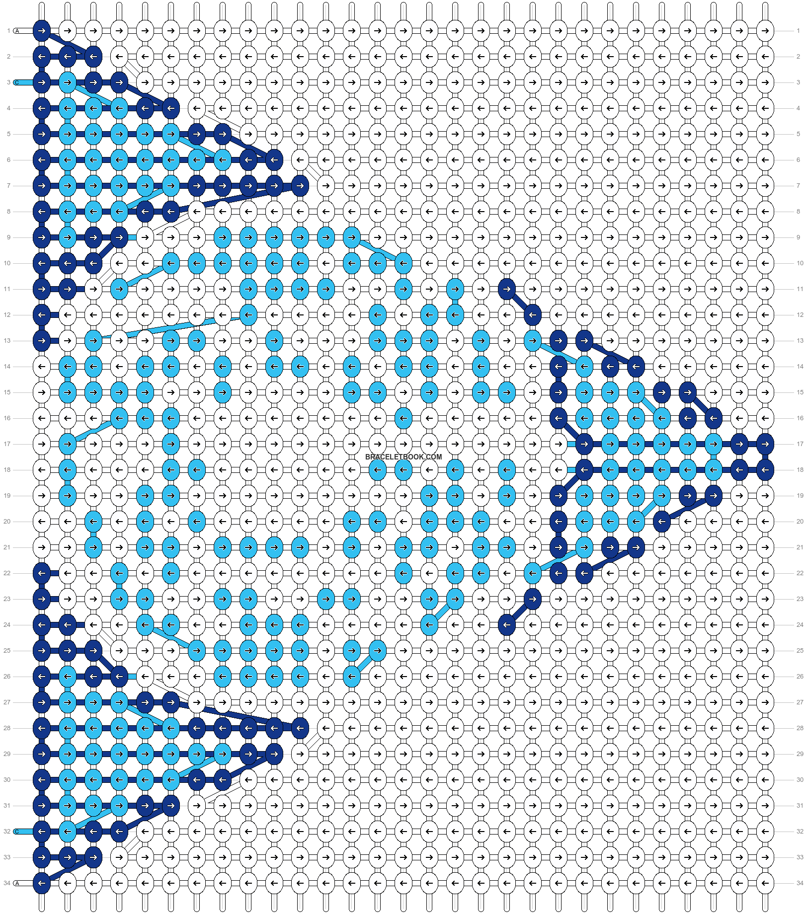 Alpha pattern #10455 pattern