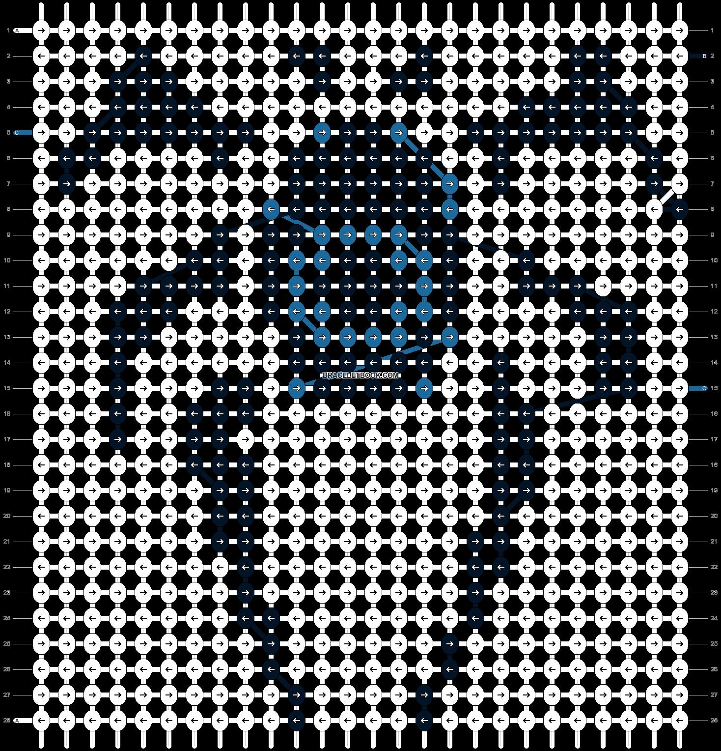 Alpha pattern #10456 pattern
