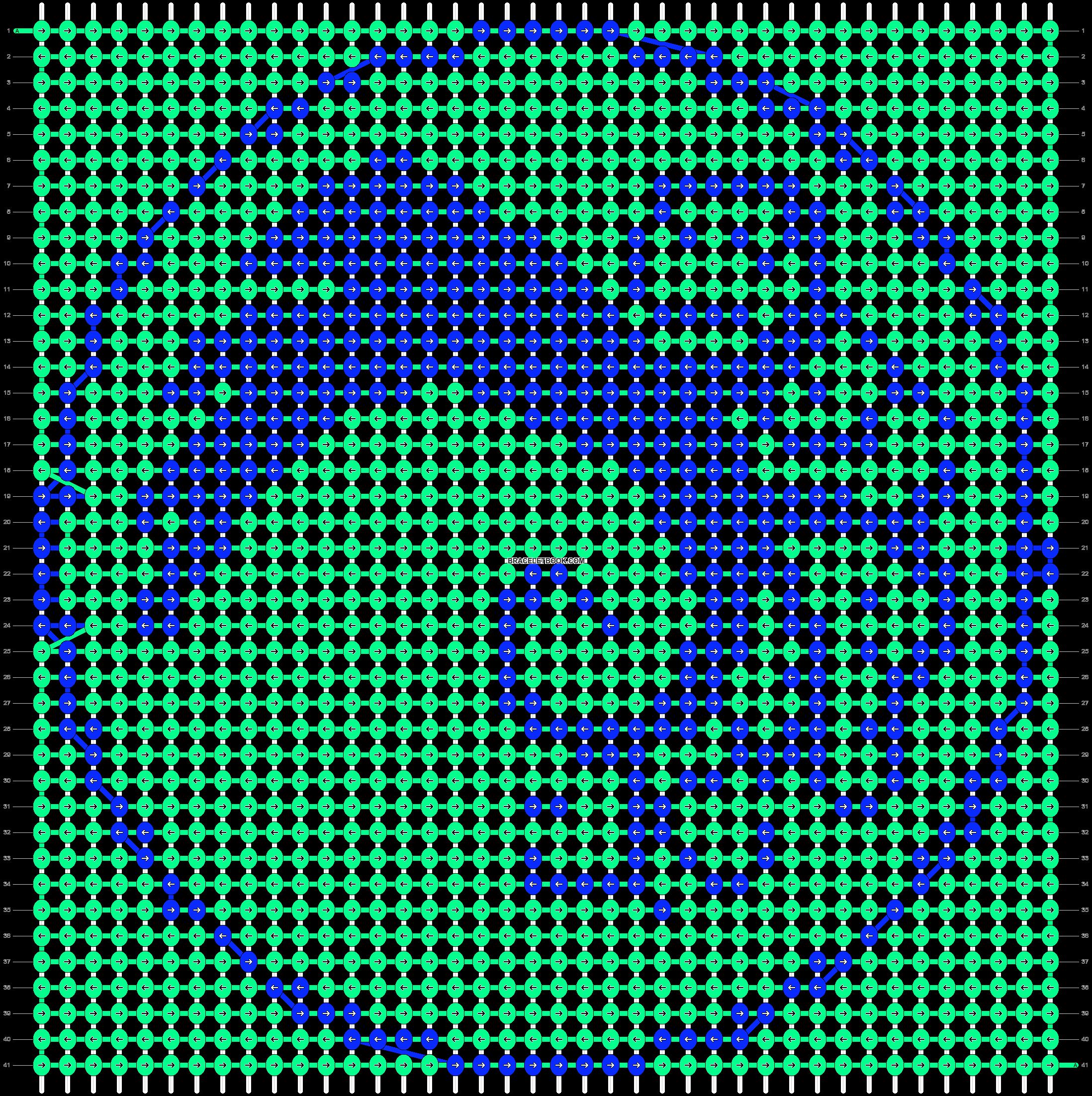 Alpha pattern #10457 pattern