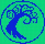 Alpha pattern #10457