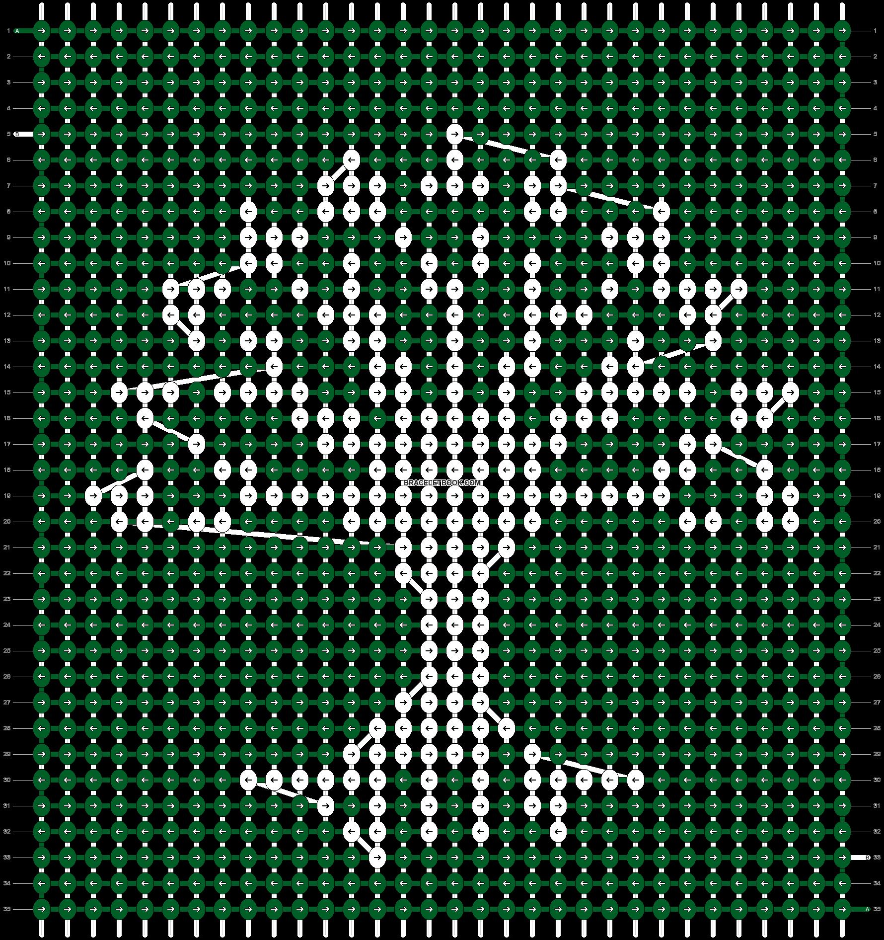 Alpha pattern #10458 pattern