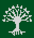 Alpha pattern #10458