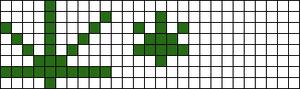 Alpha pattern #10460