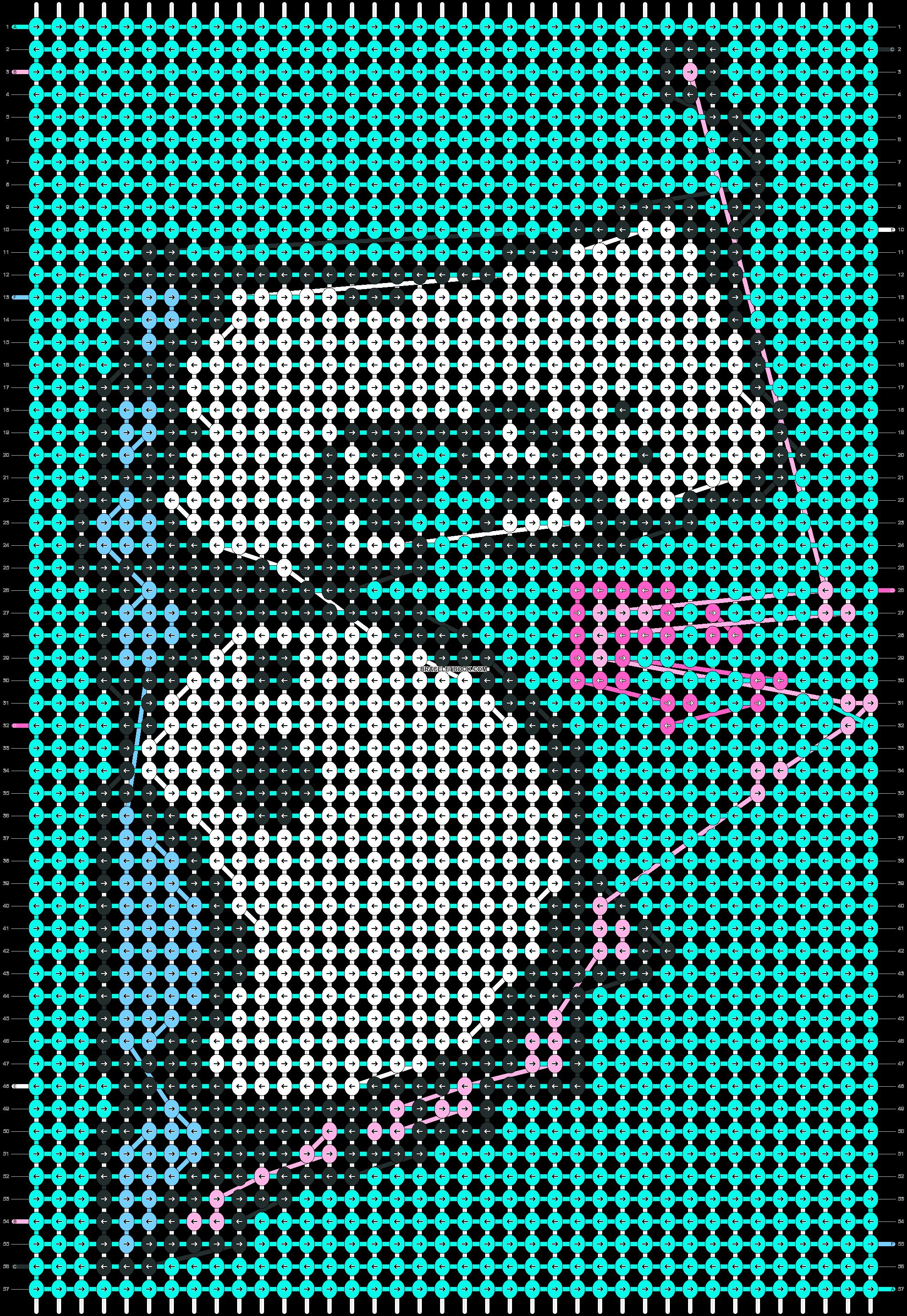 Alpha pattern #10467 pattern