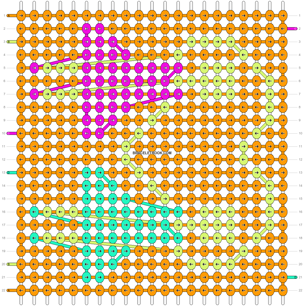 Alpha pattern #10478 pattern