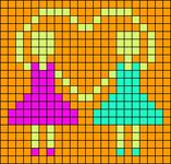Alpha pattern #10478