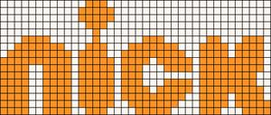 Alpha pattern #10483