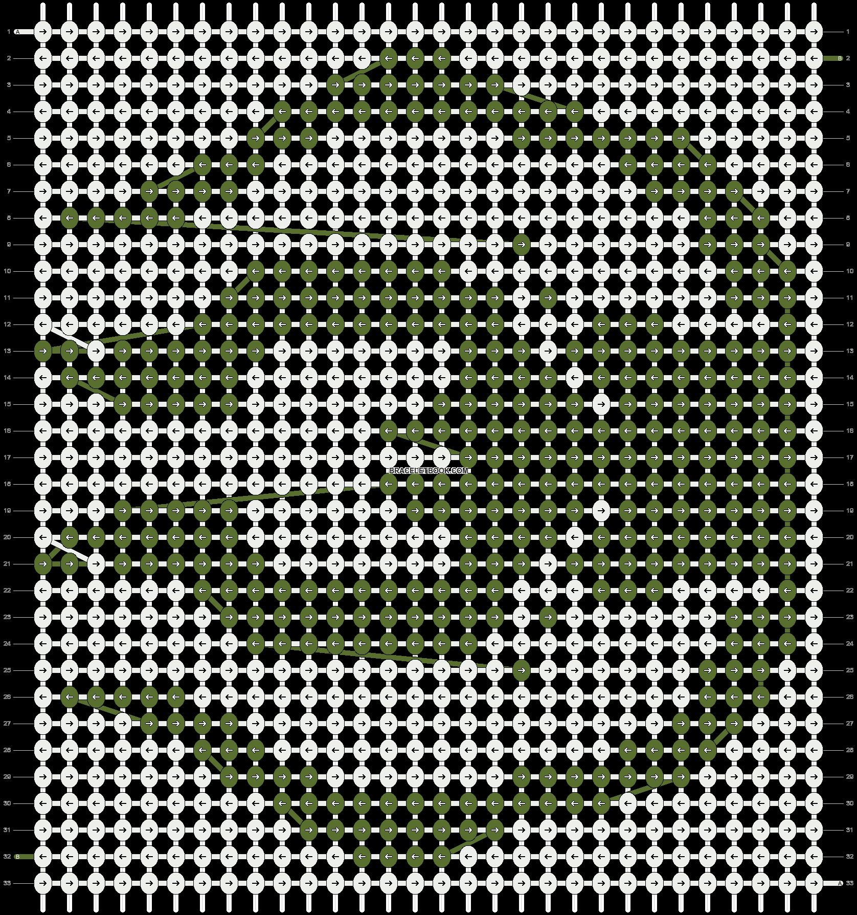 Alpha pattern #10486 pattern