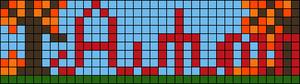 Alpha pattern #10488