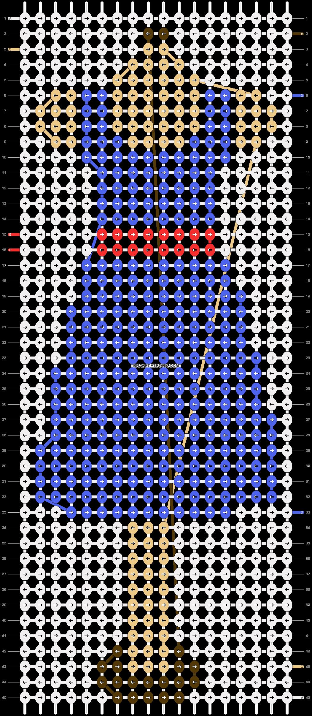 Alpha pattern #10489 pattern