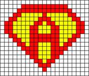 Alpha pattern #10490