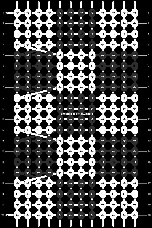 Alpha pattern #10492 pattern