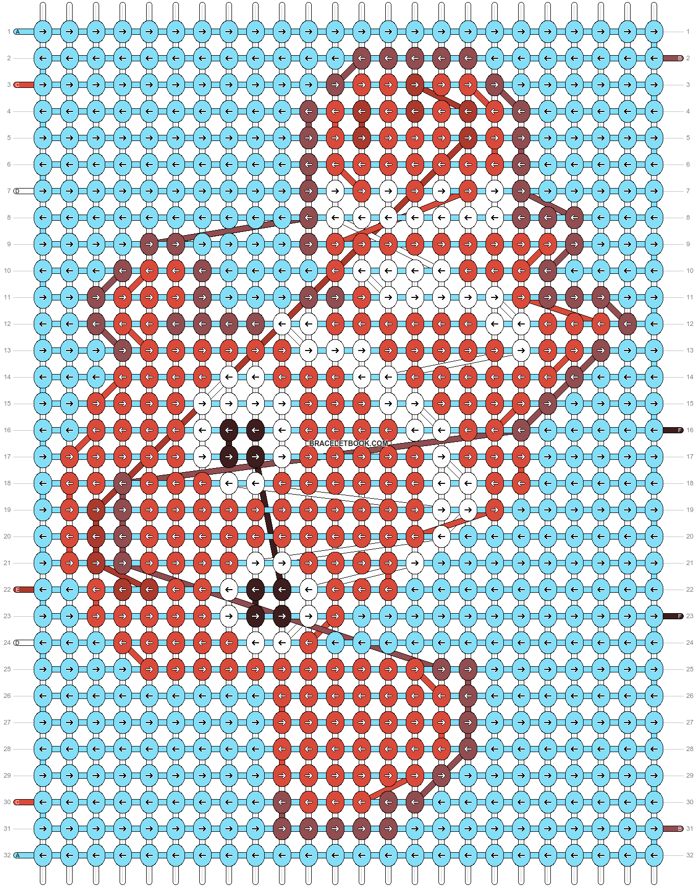 Alpha pattern #10502 pattern