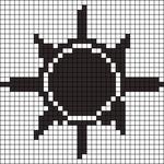 Alpha pattern #10505