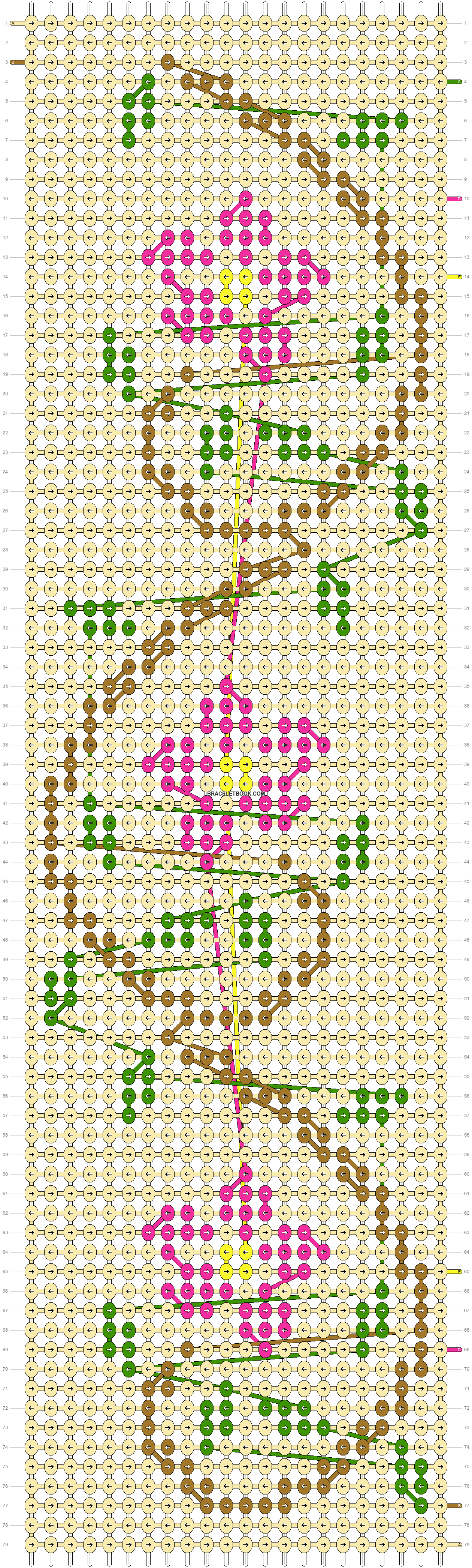 Alpha pattern #10522 pattern