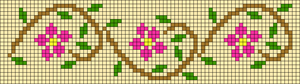 Alpha Friendship Bracelet Pattern #10522