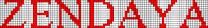 Alpha pattern #10524