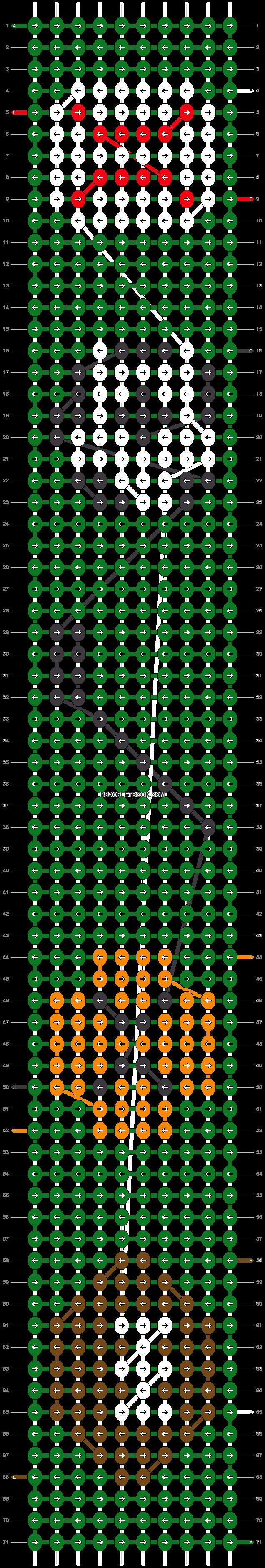 Alpha pattern #10534 pattern