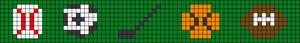 Alpha pattern #10534