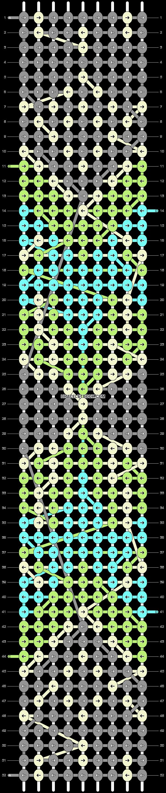 Alpha pattern #10535 pattern