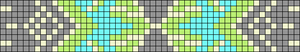 Alpha Friendship Bracelet Pattern #10535
