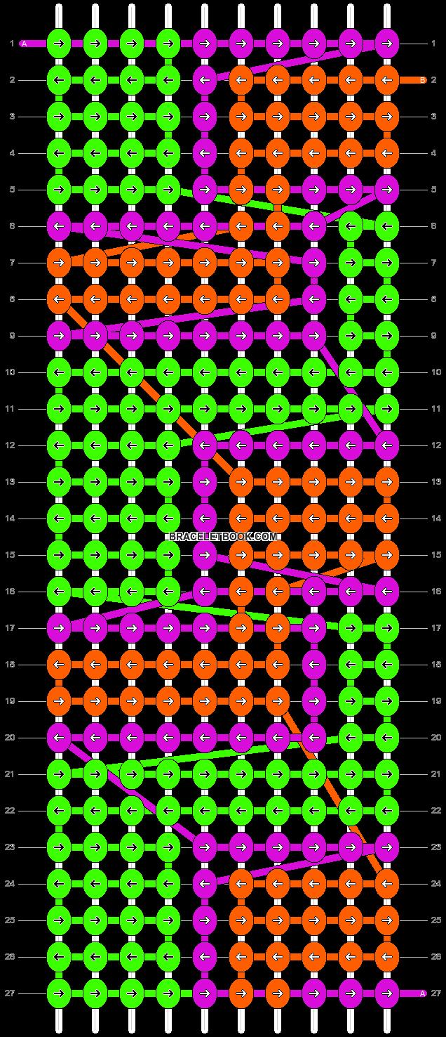 Alpha pattern #10554 pattern