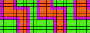 Alpha pattern #10554
