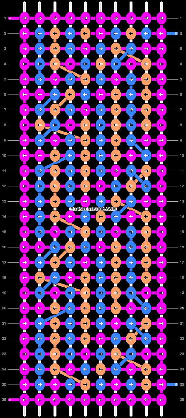 Alpha pattern #10555 pattern