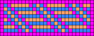 Alpha pattern #10555