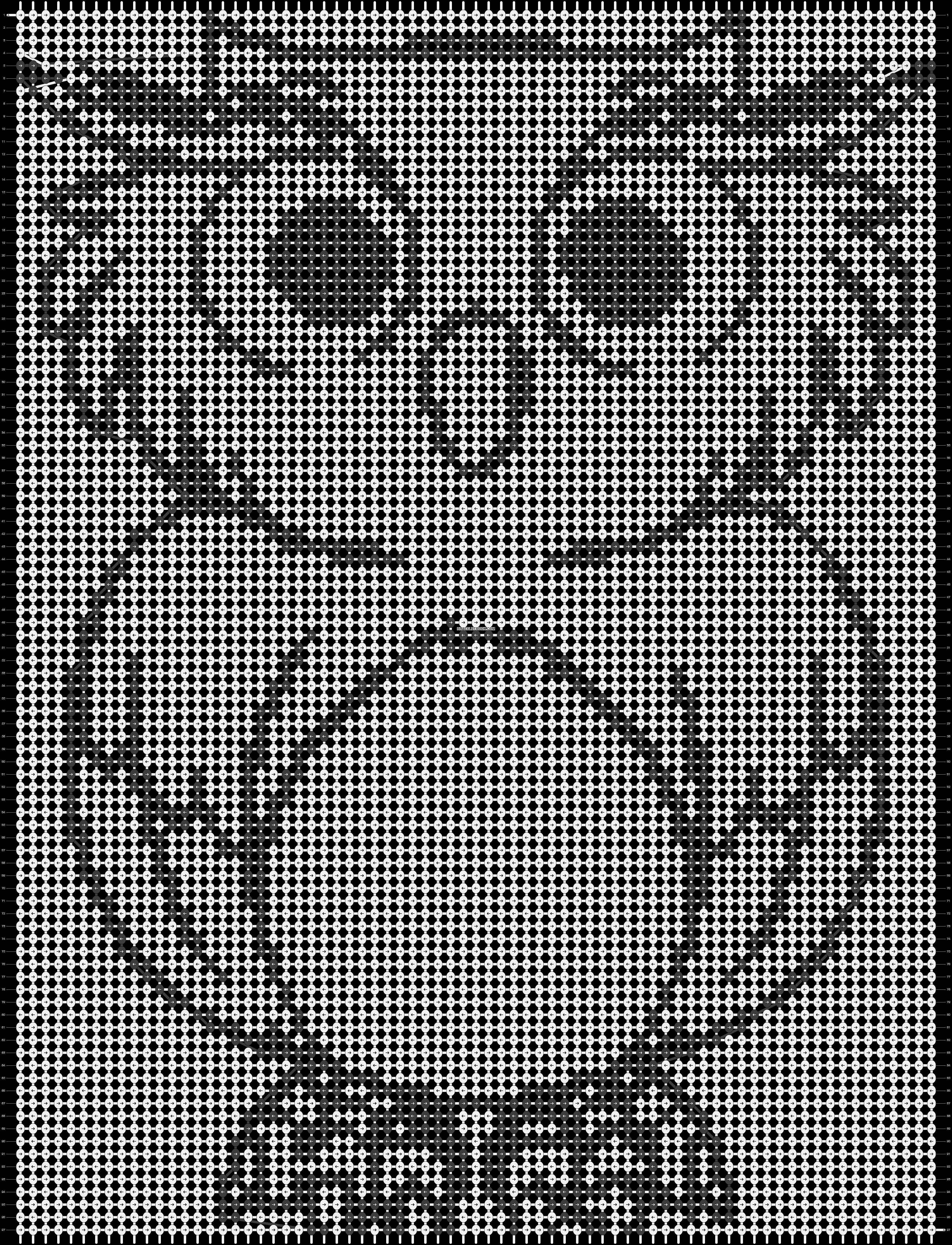 Alpha pattern #10557 pattern