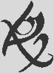 Alpha Friendship Bracelet Pattern #10561