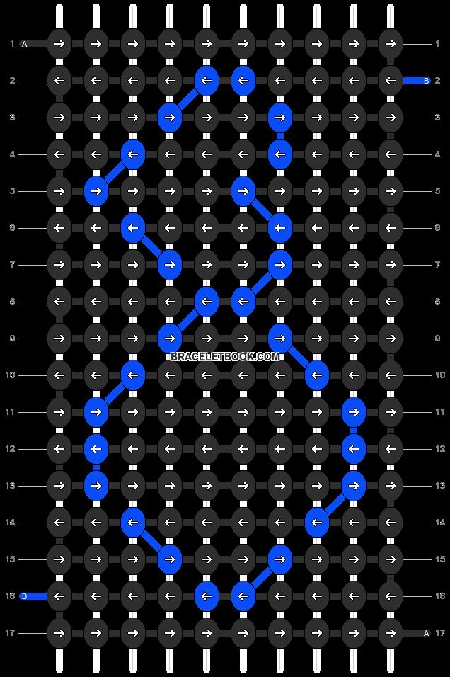Alpha pattern #10562 pattern