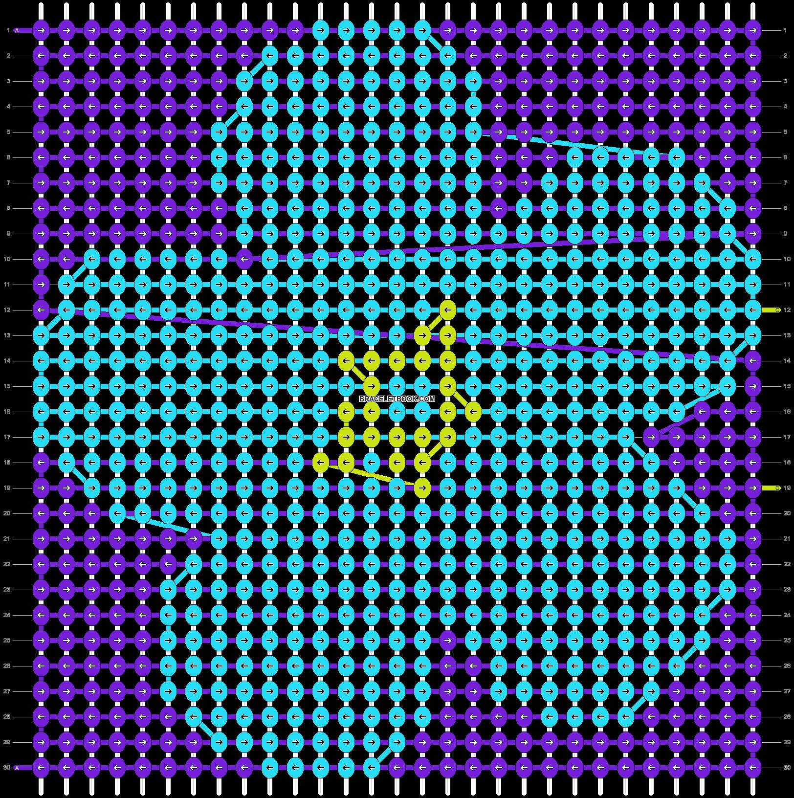 Alpha pattern #10563 pattern