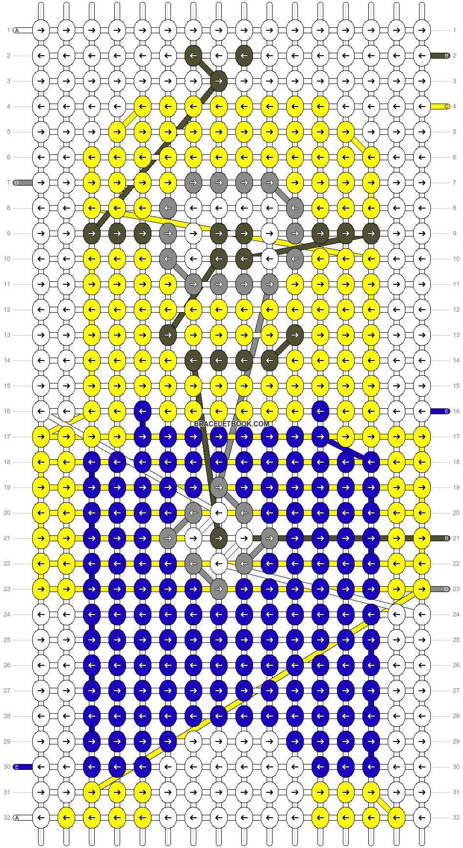 Alpha pattern #10564 pattern