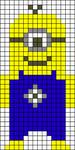 Alpha Friendship Bracelet Pattern #10564