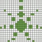 Alpha pattern #10590