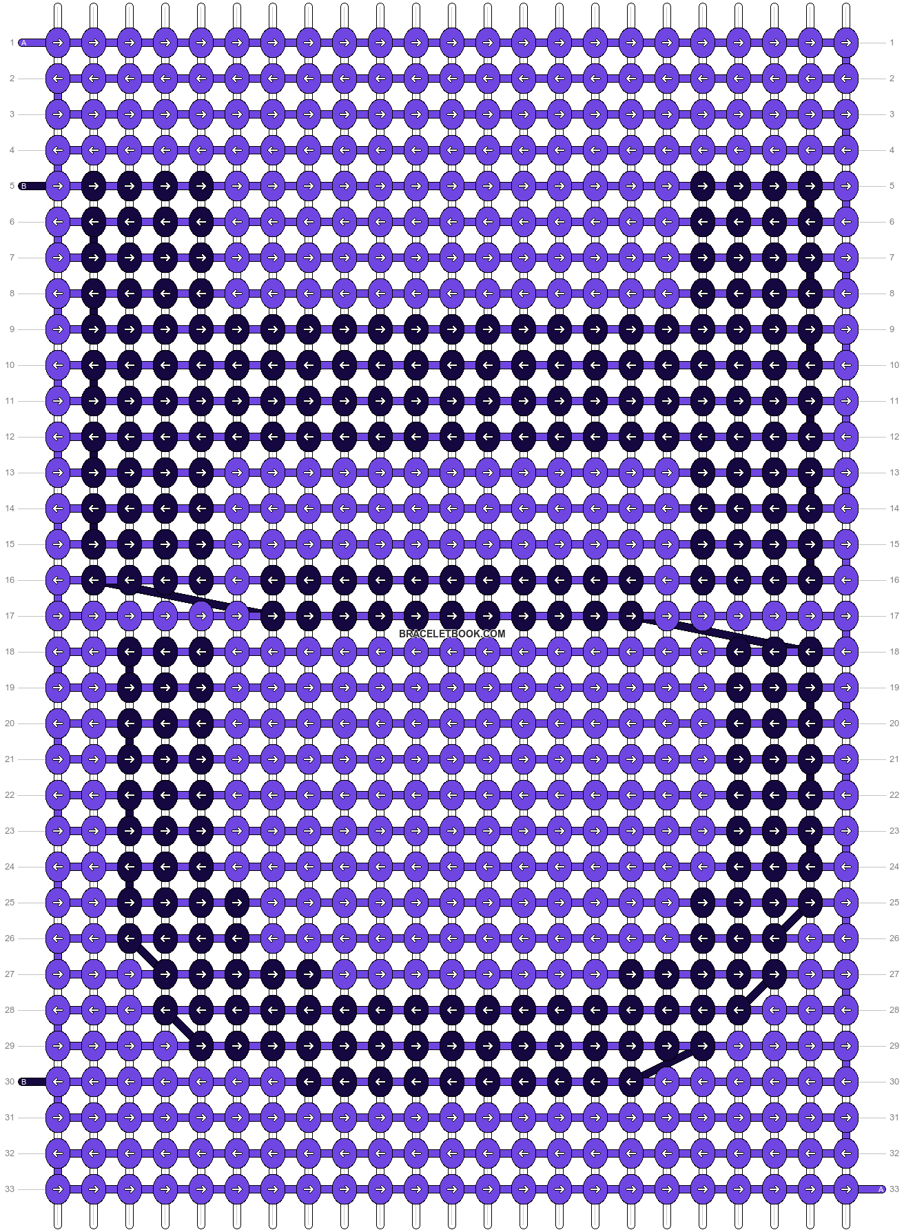 Alpha pattern #10595 pattern