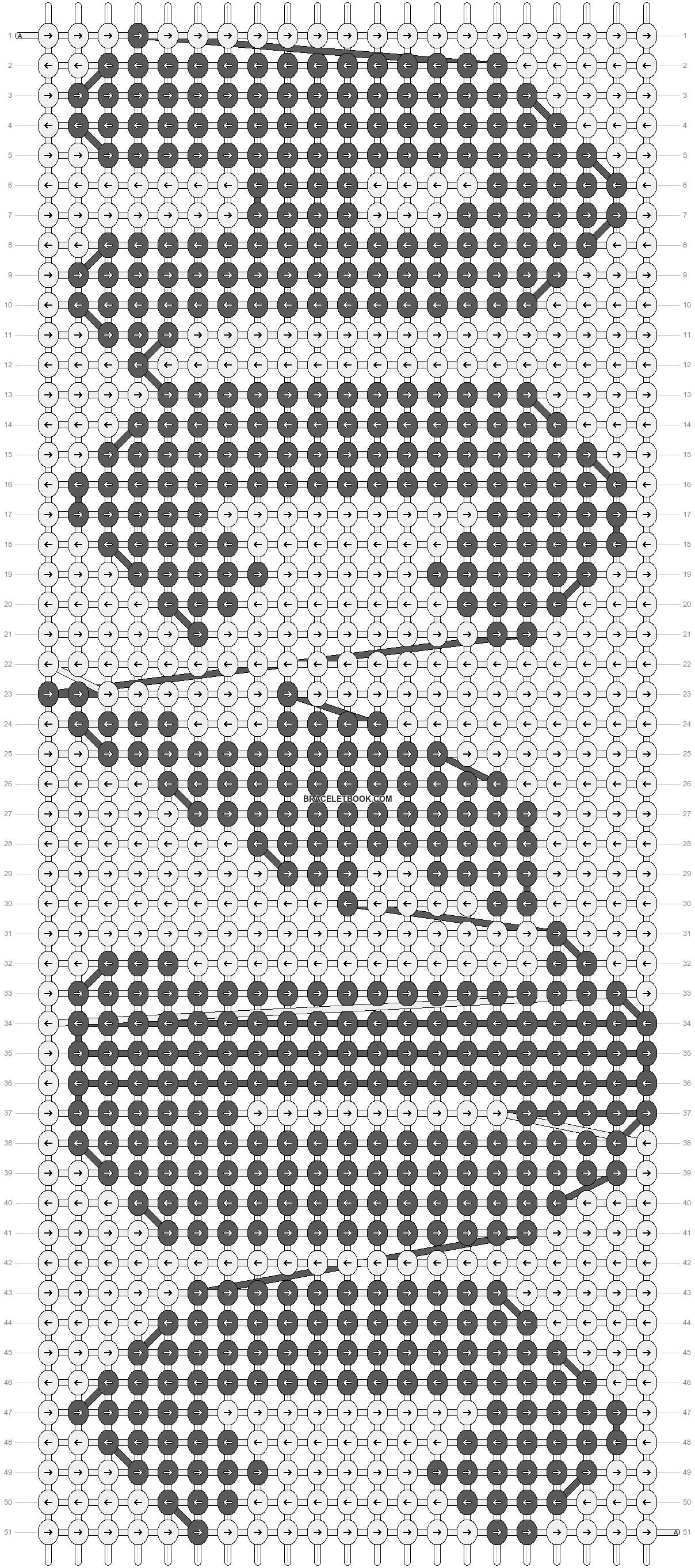 Alpha pattern #10596 pattern