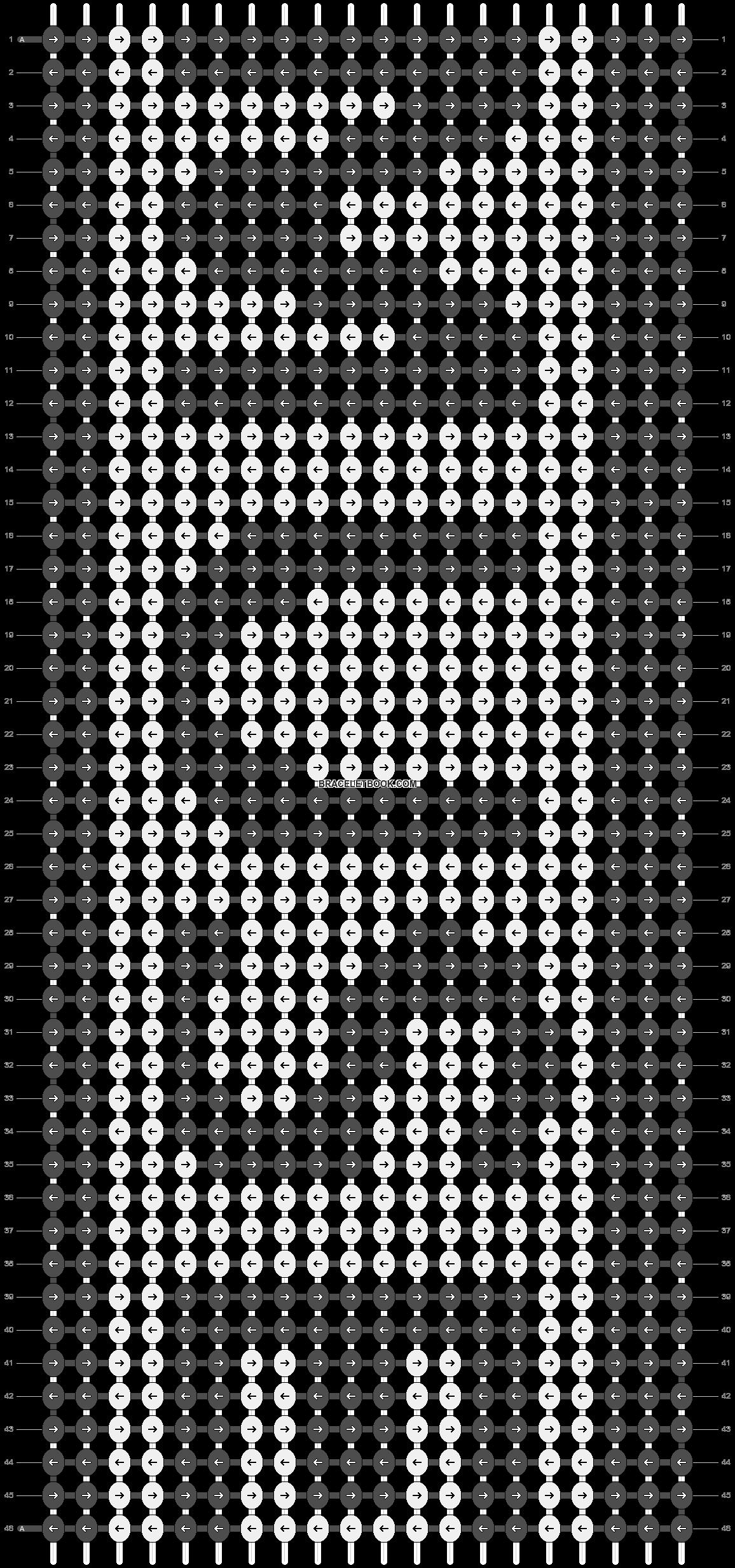 Alpha pattern #10597 pattern